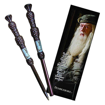 Official Dumbledore Wand Pen & Bookmark at the best quality and price at House Of Spells- Harry Potter Themed Shop In London. Get Your Dumbledore Wand Pen & Bookmark now with 15% discount using code FANDOM at Checkout. www.houseofspells.co.uk.