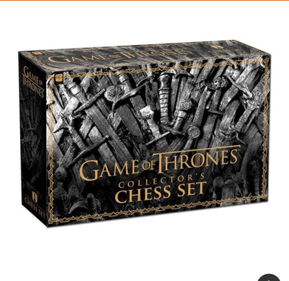 Official Game of Thrones Chess Set at the best quality and price at House Of Spells- Fandom Collectable Shop. Get Your Game of Thrones Chess Set now with 15% discount using code FANDOM at Checkout. www.houseofspells.co.uk.