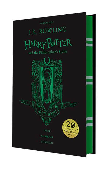Harry Potter The Philosophers Stone Slytherin Edition Hardback