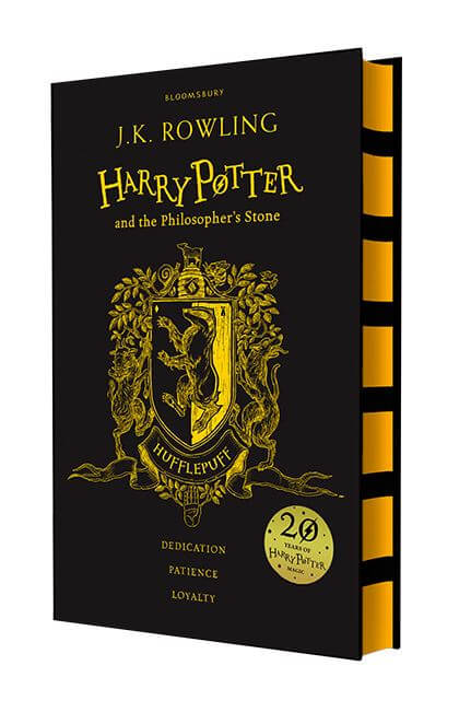 Harry Potter The Philosophers Stone Hufflepuff Edition Hardback
