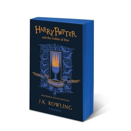 Official Harry Potter and The Goblet of Fire Ravenclaw Edition Paperback at the best quality and price at House Of Spells- Fandom Collectable Shop. Get Your Harry Potter and The Goblet of Fire Ravenclaw Edition Paperback now with 15% discount using code FANDOM at Checkout. www.houseofspells.co.uk.