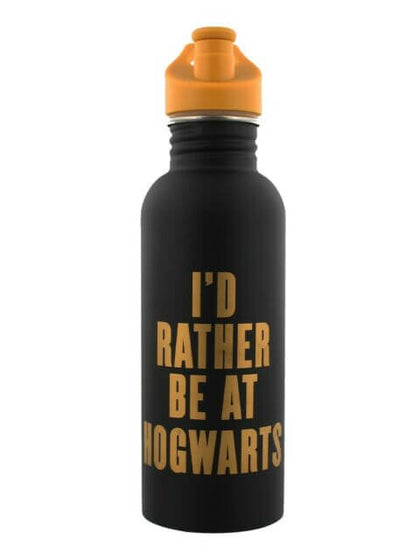 Harry Potter Canteen Water Bottle I Would Rather Be