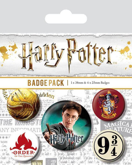 Official Gryffindor Badge Pack at the best quality and price at House Of Spells- Fandom Collectable Shop. Get Your Gryffindor Badge Pack now with 15% discount using code FANDOM at Checkout. www.houseofspells.co.uk.