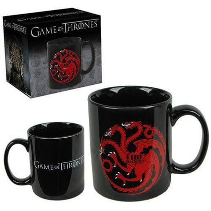 Official Fire and Blood Targaryen Mug at the best quality and price at House Of Spells- Fandom Collectable Shop. Get Your Fire and Blood Targaryen Mug now with 15% discount using code FANDOM at Checkout. www.houseofspells.co.uk.
