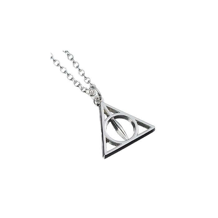 Sterling Silver Harry Potter Deathly Hallows Necklace