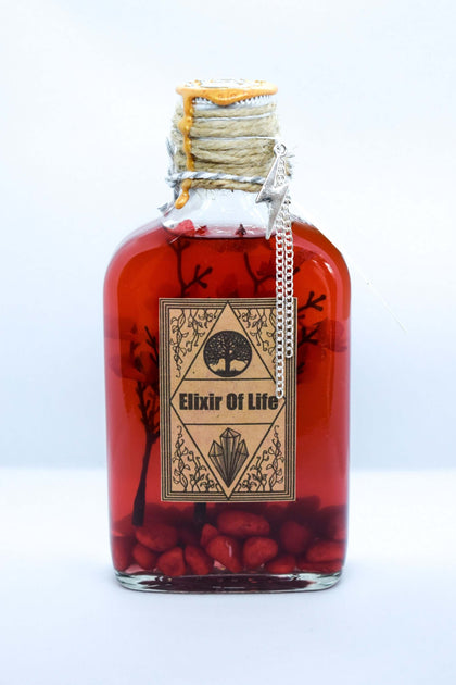 Official Elixir of Life Potion at the best quality and price at House Of Spells- Fandom Collectable Shop. Get Your Elixir of Life Potion now with 15% discount using code FANDOM at Checkout. www.houseofspells.co.uk.