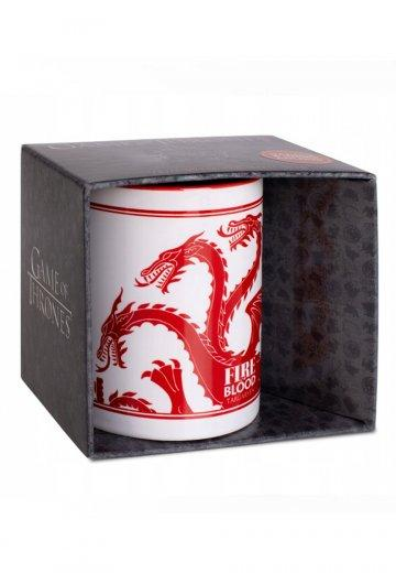 Official Game of Thrones House Targaryen Red Mug at the best quality and price at House Of Spells- Fandom Collectable Shop. Get Your Game of Thrones House Targaryen Red Mug now with 15% discount using code FANDOM at Checkout. www.houseofspells.co.uk.