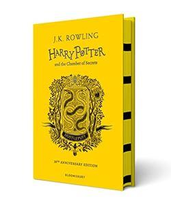 Official Harry Potter and The Chamber Of Secrets Hufflepuff Edition Hardback at the best quality and price at House Of Spells- Fandom Collectable Shop. Get Your Harry Potter and The Chamber Of Secrets Hufflepuff Edition Hardback now with 15% discount using code FANDOM at Checkout. www.houseofspells.co.uk.