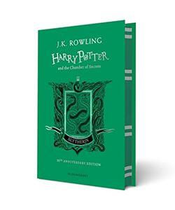 Official Harry Potter and The Chamber Of Secrets Slytherin Edition Hardback at the best quality and price at House Of Spells- Fandom Collectable Shop. Get Your Harry Potter and The Chamber Of Secrets Slytherin Edition Hardback now with 15% discount using code FANDOM at Checkout. www.houseofspells.co.uk.