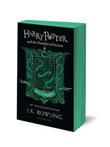 Official Harry Potter and The Chamber Of Secrets Slytherin Edition Paperback at the best quality and price at House Of Spells- Fandom Collectable Shop. Get Your Harry Potter and The Chamber Of Secrets Slytherin Edition Paperback now with 15% discount using code FANDOM at Checkout. www.houseofspells.co.uk.