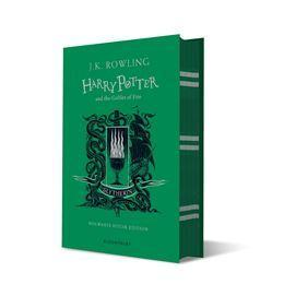 Official Harry Potter and The Goblet of Fire Slytherin Edition Hardback at the best quality and price at House Of Spells- Fandom Collectable Shop. Get Your Harry Potter and The Goblet of Fire Slytherin Edition Hardback now with 15% discount using code FANDOM at Checkout. www.houseofspells.co.uk.