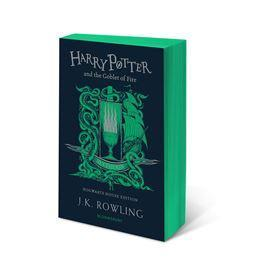 Official Harry Potter and The Goblet of Fire Slytherin Edition Paperback at the best quality and price at House Of Spells- Fandom Collectable Shop. Get Your Harry Potter and The Goblet of Fire Slytherin Edition Paperback now with 15% discount using code FANDOM at Checkout. www.houseofspells.co.uk.