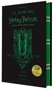 Harry Potter and The Philosophers Stone Slytherin Edition Hardback