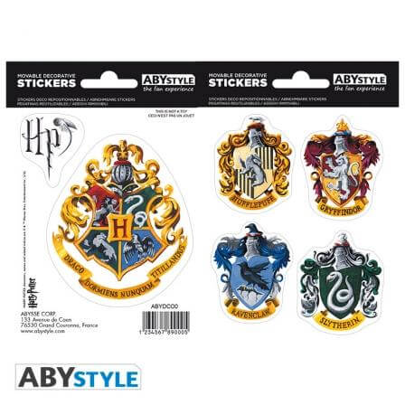 Harry Potter  Mini stickers Hogwarts Houses