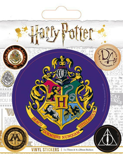 Official Hogwarts Vinyl Sticker at the best quality and price at House Of Spells- Fandom Collectable Shop. Get Your Hogwarts Vinyl Sticker now with 15% discount using code FANDOM at Checkout. www.houseofspells.co.uk.