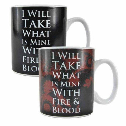 Official MUG HEAT CHANGING -GOT (DAENERYS) at the best quality and price at House Of Spells- Fandom Collectable Shop. Get Your MUG HEAT CHANGING -GOT (DAENERYS) now with 15% discount using code FANDOM at Checkout. www.houseofspells.co.uk.