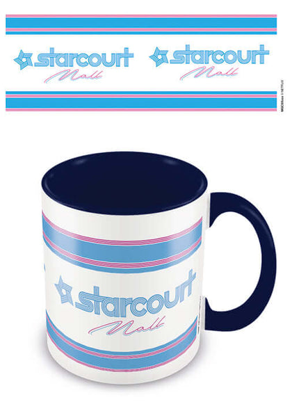 Stranger Things Starcourt Blue Mug