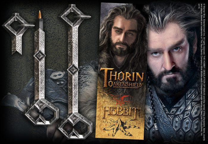 Thorin Key Pen And Lenticular Bookmark