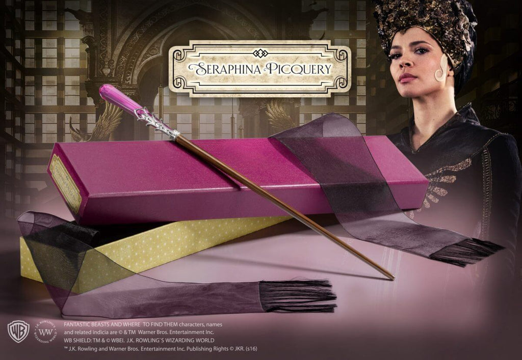Seraphina Picquery- Wand In Collector Box - House Of Spells