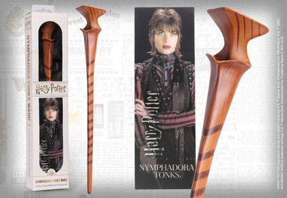 Official Nymphadora Tonks Toy Wand at the best quality and price at House Of Spells- Fandom Collectable Shop. Get Your Nymphadora Tonks Toy Wand now with 15% discount using code FANDOM at Checkout. www.houseofspells.co.uk.