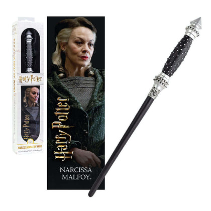 Narcissa Malfoy PVC Toy Wand & Bookmark