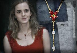 Hermoine Red Crystal Necklace - House Of Spells