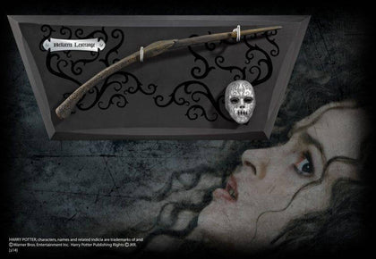 Official Bellatrix Lestrange - Wand And Display at the best quality and price at House Of Spells- Harry Potter Themed Shop In London. Get Your Bellatrix Lestrange - Wand And Display now with 15% discount using code FANDOM at Checkout. www.houseofspells.co.uk.