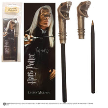 Load image into Gallery viewer, Lucius Malfoy Wand Pen And Bookmark