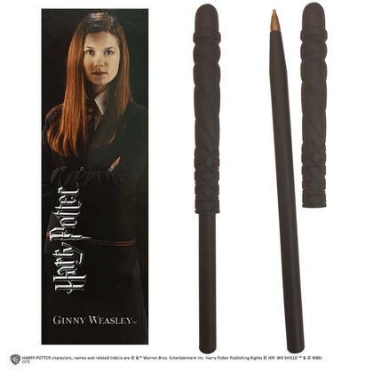 Official Ginny Wand Pen And Bookmark at the best quality and price at House Of Spells- Fandom Collectable Shop. Get Your Ginny Wand Pen And Bookmark now with 15% discount using code FANDOM at Checkout. www.houseofspells.co.uk.