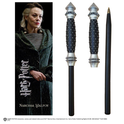 Narcissa Wand Pen And Bookmark - House Of Spells