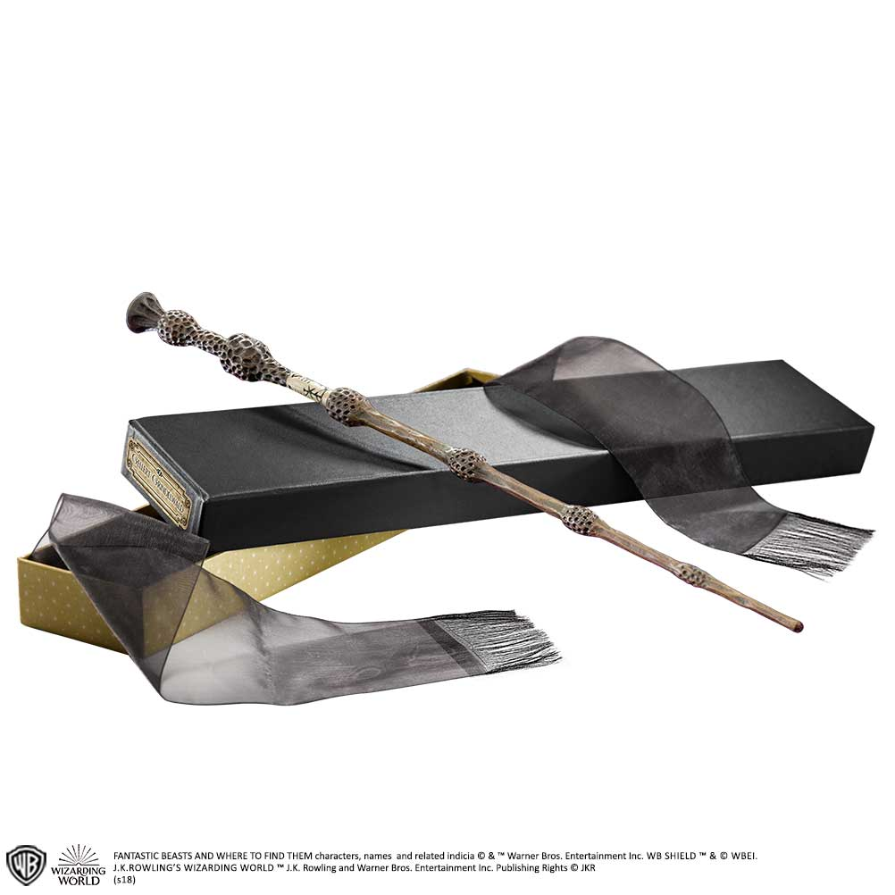 Gellert Grindelwald - Wand In Collector Box