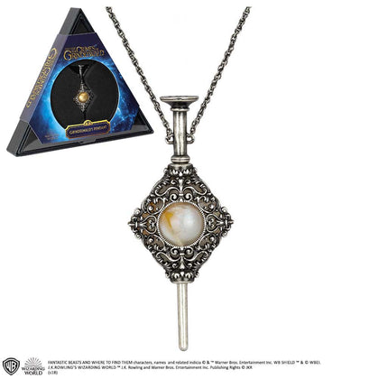 Official Gellert Grindelwald Pendant at the best quality and price at House Of Spells- Harry Potter Themed Shop In London. Get Your Gellert Grindelwald Pendant now with 15% discount using code FANDOM at Checkout. www.houseofspells.co.uk.