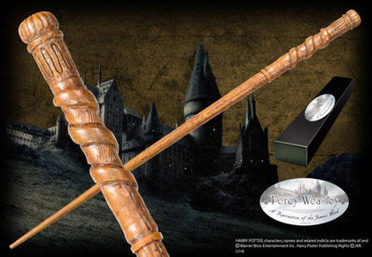 Percy Weasley Character Wand - House Of Spells