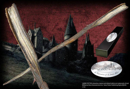 Official Gellert Grindelwald Character Wand at the best quality and price at House Of Spells- Harry Potter Themed Shop In London. Get Your Gellert Grindelwald Character Wand now with 15% discount using code FANDOM at Checkout. www.houseofspells.co.uk.
