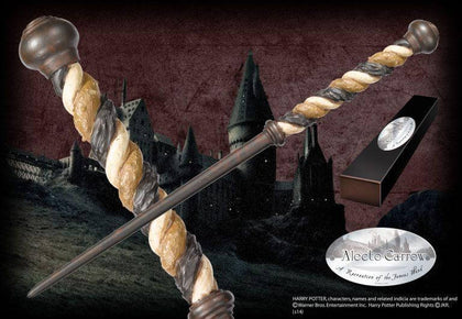 Official Alecto Carrow Character Wand at the best quality and price at House Of Spells- Fandom Collectable Shop. Get Your Alecto Carrow Character Wand now with 15% discount using code FANDOM at Checkout. www.houseofspells.co.uk.