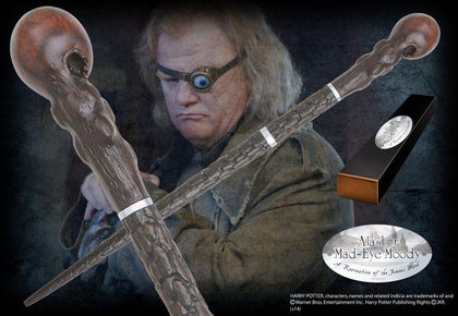 Official Alastor Mad-Eye Moody Character Wand at the best quality and price at House Of Spells- Harry Potter Themed Shop In London. Get Your Alastor Mad-Eye Moody Character Wand now with 15% discount using code FANDOM at Checkout. www.houseofspells.co.uk.
