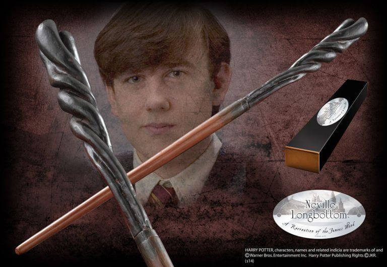 Neville Longbottom Character Wand - House Of Spells