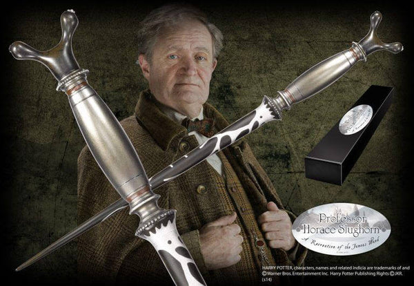 Professor Horace Slughorn Character Wand - House Of Spells