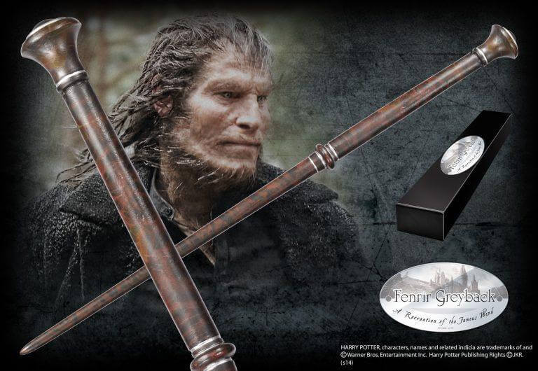 Fenrir Greyback Character Wand - House Of Spells- Harry Potter Themed Shop In London