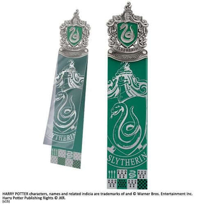 Official Slytherin Crest Bookmark at the best quality and price at House Of Spells- Fandom Collectable Shop. Get Your Slytherin Crest Bookmark now with 15% discount using code FANDOM at Checkout. www.houseofspells.co.uk.