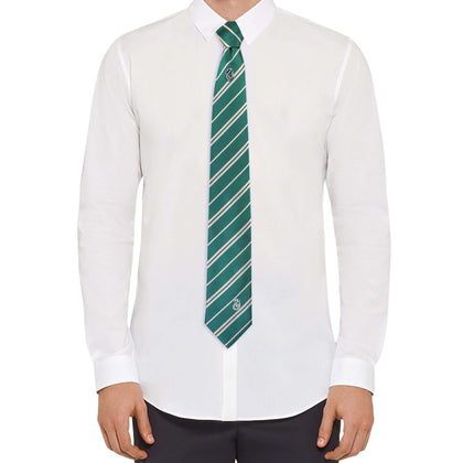 Slytherin Tie - Deluxe Edition - House Of Spells