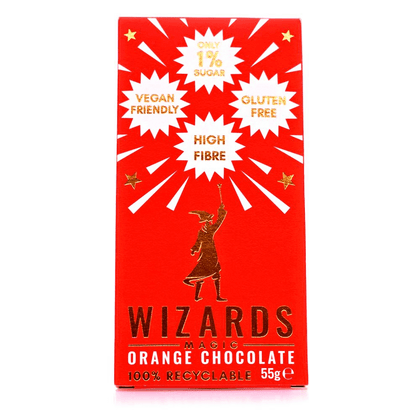 Official Wizards Magic Orange Chocolate at the best quality and price at House Of Spells- Fandom Collectable Shop. Get Your Wizards Magic Orange Chocolate now with 15% discount using code FANDOM at Checkout. www.houseofspells.co.uk.