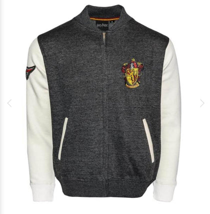Harry Potter Gryffindor Crest Varsity Jacket