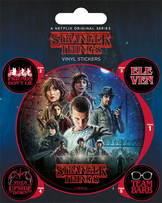 Stranger Things One Sheet Vinyl Sticker