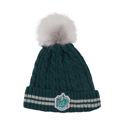 Slytherin Pompom Beanie - House Of Spells