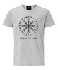 Helm of Awe T-Shirt- Grey