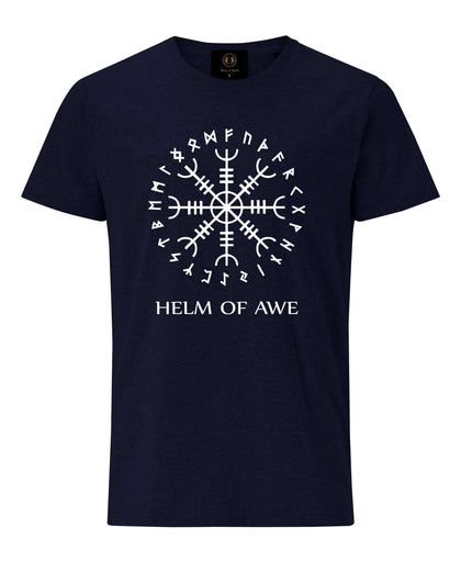 Helm of Awe T-Shirt- Navy