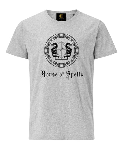 House of Spells Logo T-Shirt- Grey