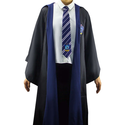 Official Adults Ravenclaw Robe at the best quality and price at House Of Spells- Harry Potter Themed Shop In London. Get Your Adults Ravenclaw Robe now with 15% discount using code FANDOM at Checkout. www.houseofspells.co.uk.
