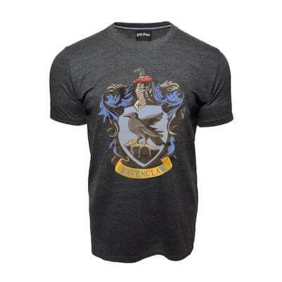 Harry Potter Printed T-Shirt - Ravenclaw Crest - House Of Spells